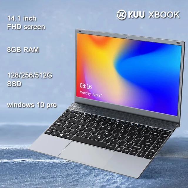 Ordenador DDR4 de 14,1 pulgadas para estudiantes, 8GB de RAM, procesador Intel, Bluetooth, WiFi, Windows 10.