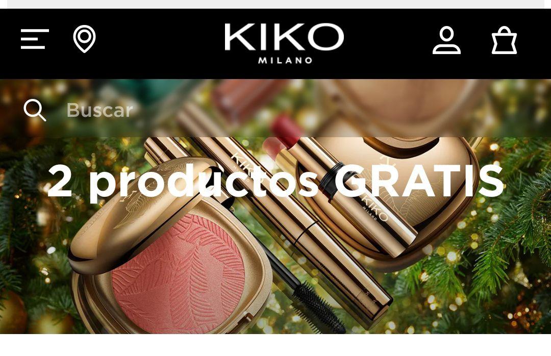 Compra 4 productos y paga solo 2 KIKO MILANO