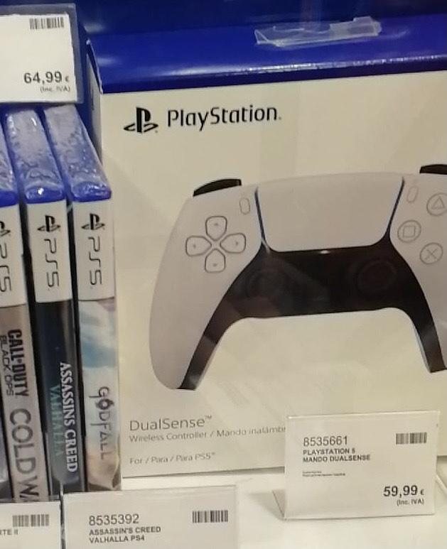 Mando PS5 DualSense en Costco Getafe (Madrid)