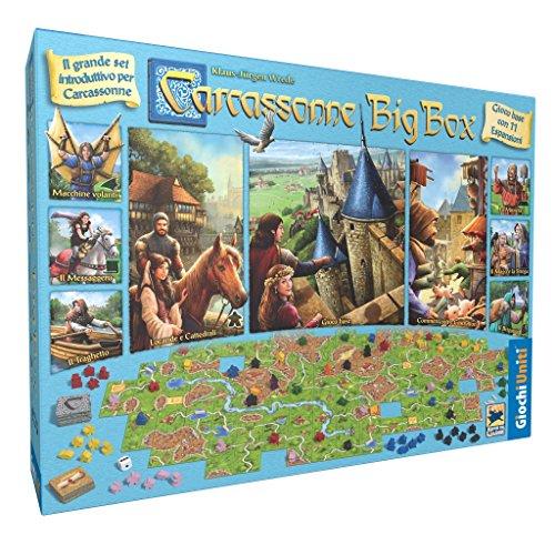 Carcassonne Plus: juego básico + 11 expansiones versión italiana
