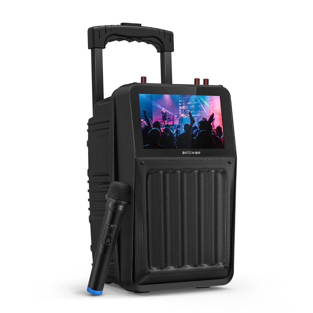 Altavoz con pantalla BlitzWolf® BW-DM1 (Desde España)