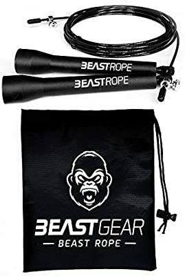 Cuerda para saltar de alta velocidad de Beast Gear