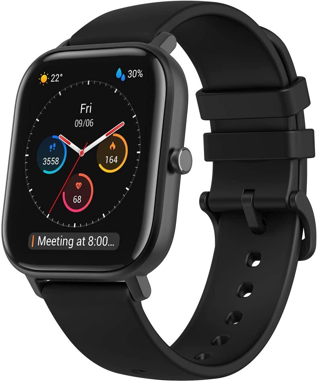 Smartwatch Amazfit GTS negro