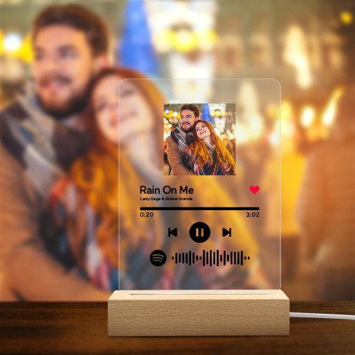 Placa LED Spotify