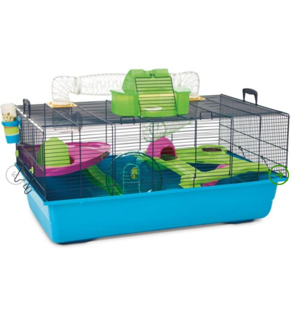 Jaula de 80*50*50 para hamster y pequeños roedores.