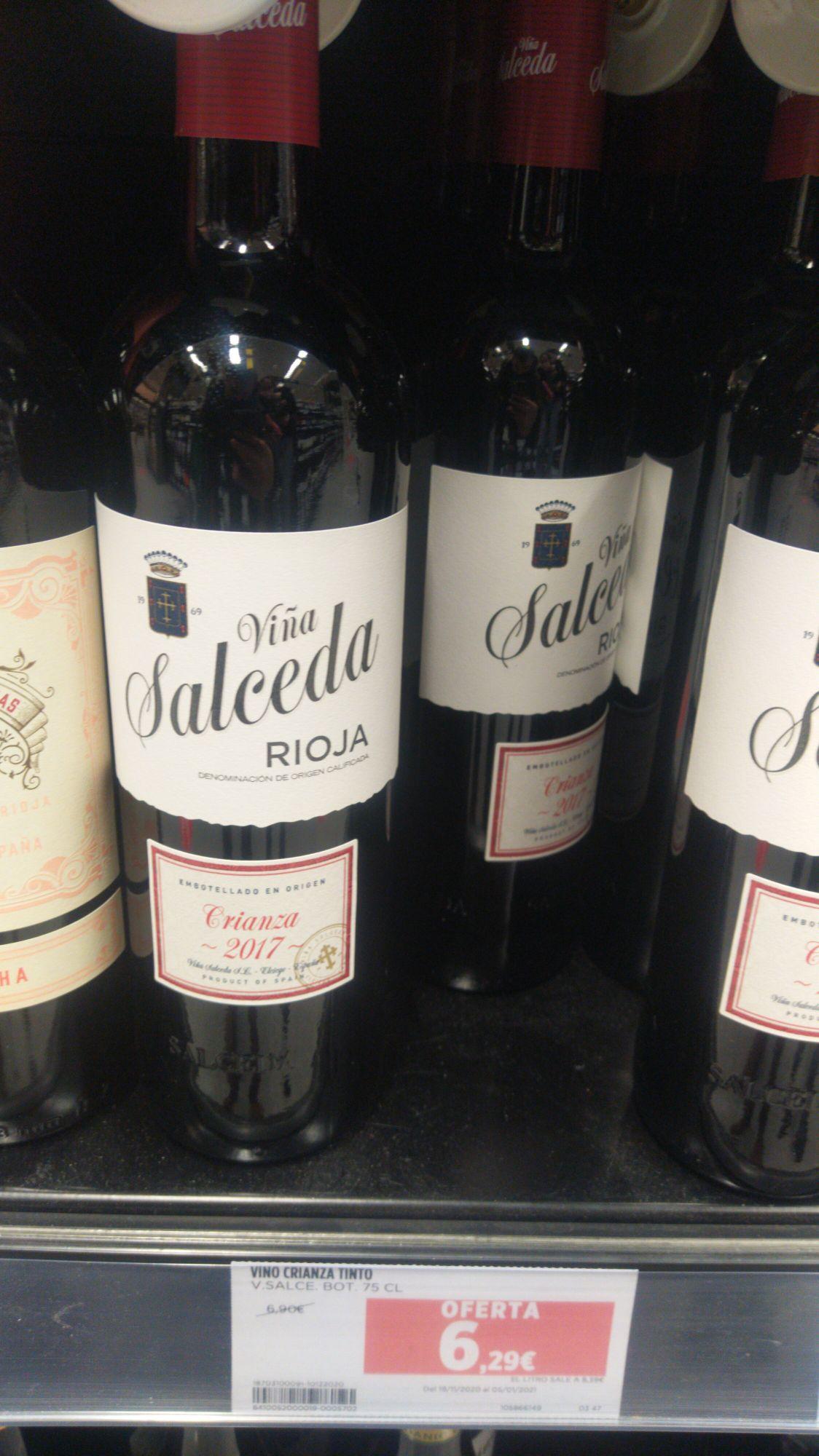 Vino Rioja Viña Salceda