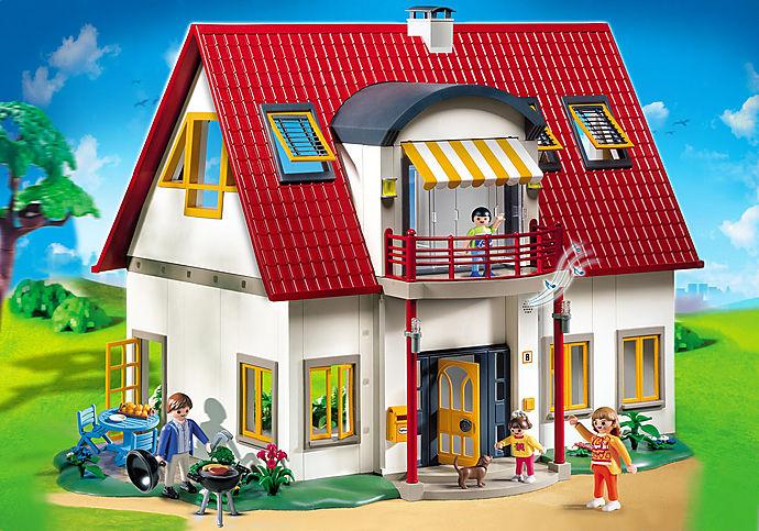 Playmobil - CASA DE LOS ALPES - (25% DESCUENTO + REGALO)