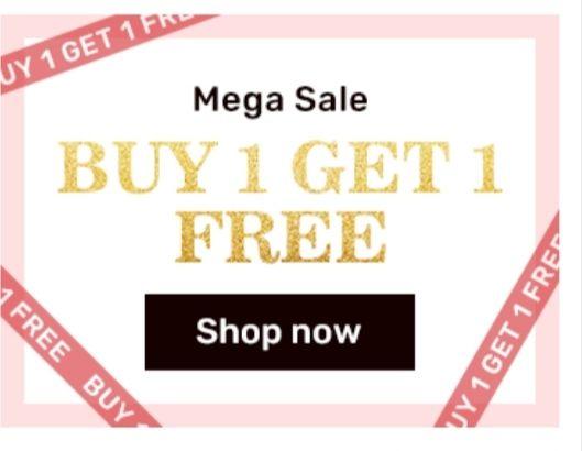 Oferta especial en Rosegal Compra uno llévate gratis otro