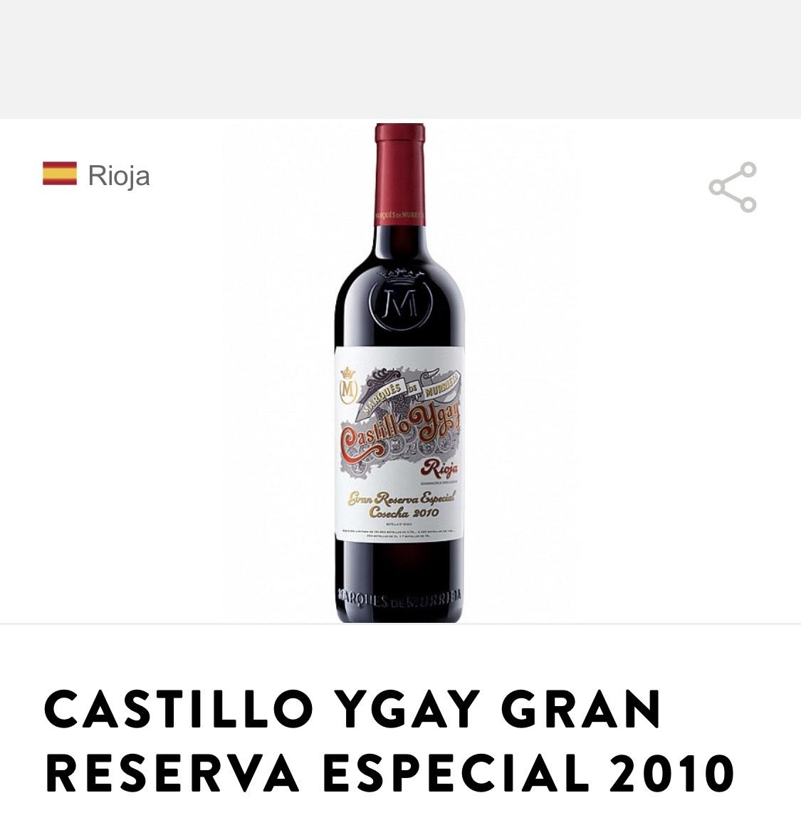 Castillo Ygay Gran Reserva