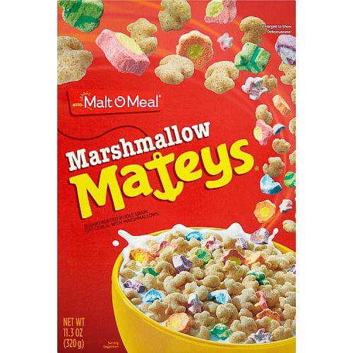 Cereales marshmallow mateys. visto en Dealz (Solo en tienda física)