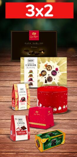 3x2 Bombones Caja Roja Sublime, Caja Roja Latas y Les Recettes L'Atelier