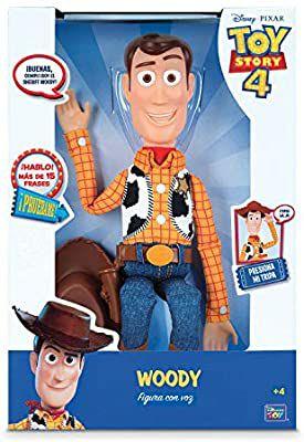 Toy Story Figura Articulada Woody con voz 40 cm