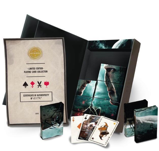 Pack de Coleccionista de 8 juegos de cartas Harry Potter Edición Limitada - Cartamundi