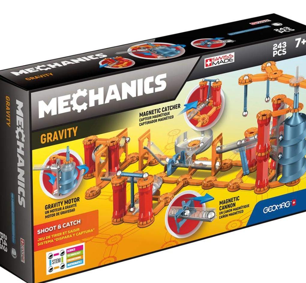 Geomag Mechanic 243 piezas