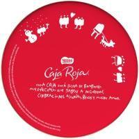 Bombones NESTLÉ Caja Roja, lata 250 con motivos navideños, y segunda caja al 50%