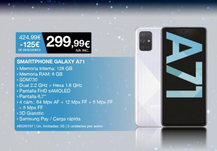 Samsung Galaxy A71 (Costco)