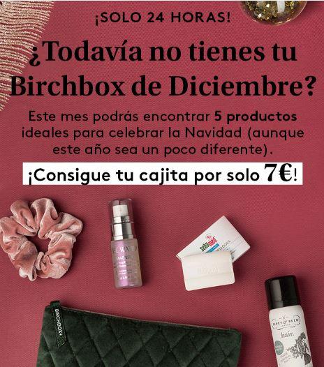 Birchbox de Diciembre por 7€