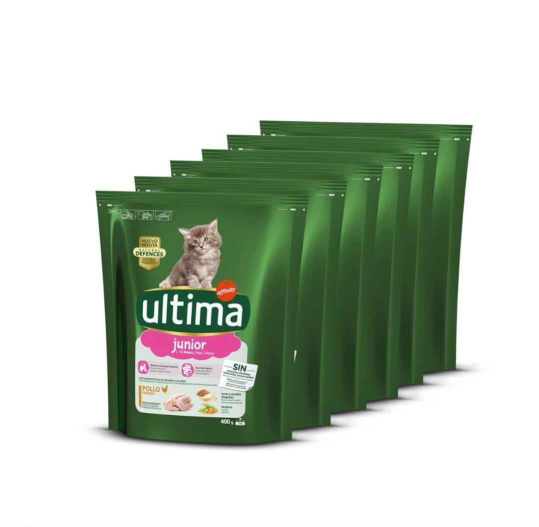 Pienso ULTIMA Junior - Pack de 6 (2,4kg)