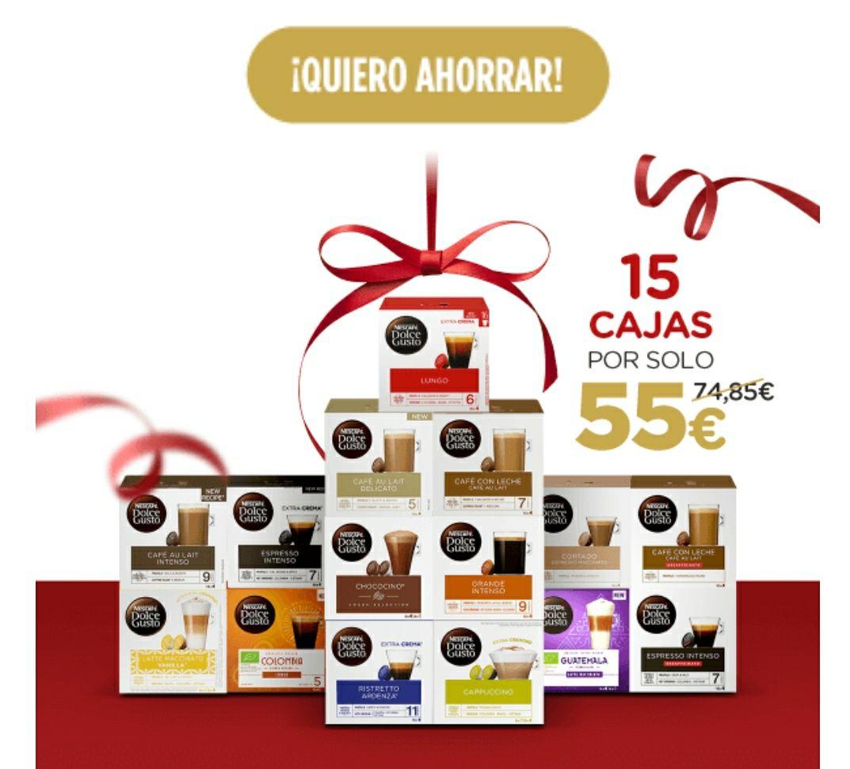15 cajas por 55€ (La caja a 3.66€)
