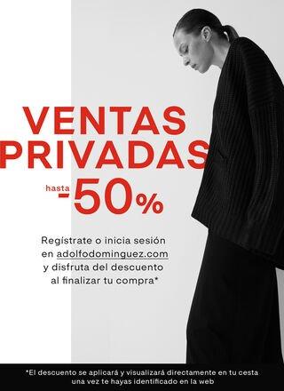 ADOLFO DOMÍNGUEZ: 50% Desc. en articulos seleccionados y envios gratis