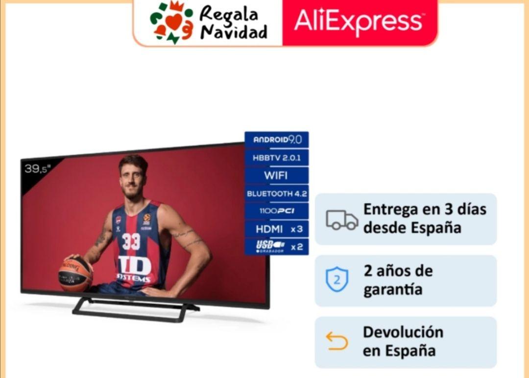 Televisores Smart TV 39,5 Pulgadas TD Systems K40DLX11FS