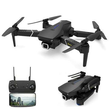 RC Drone Quadcopter Eachine E520S GPS - Con 3 baterías y bolsa - Desde España