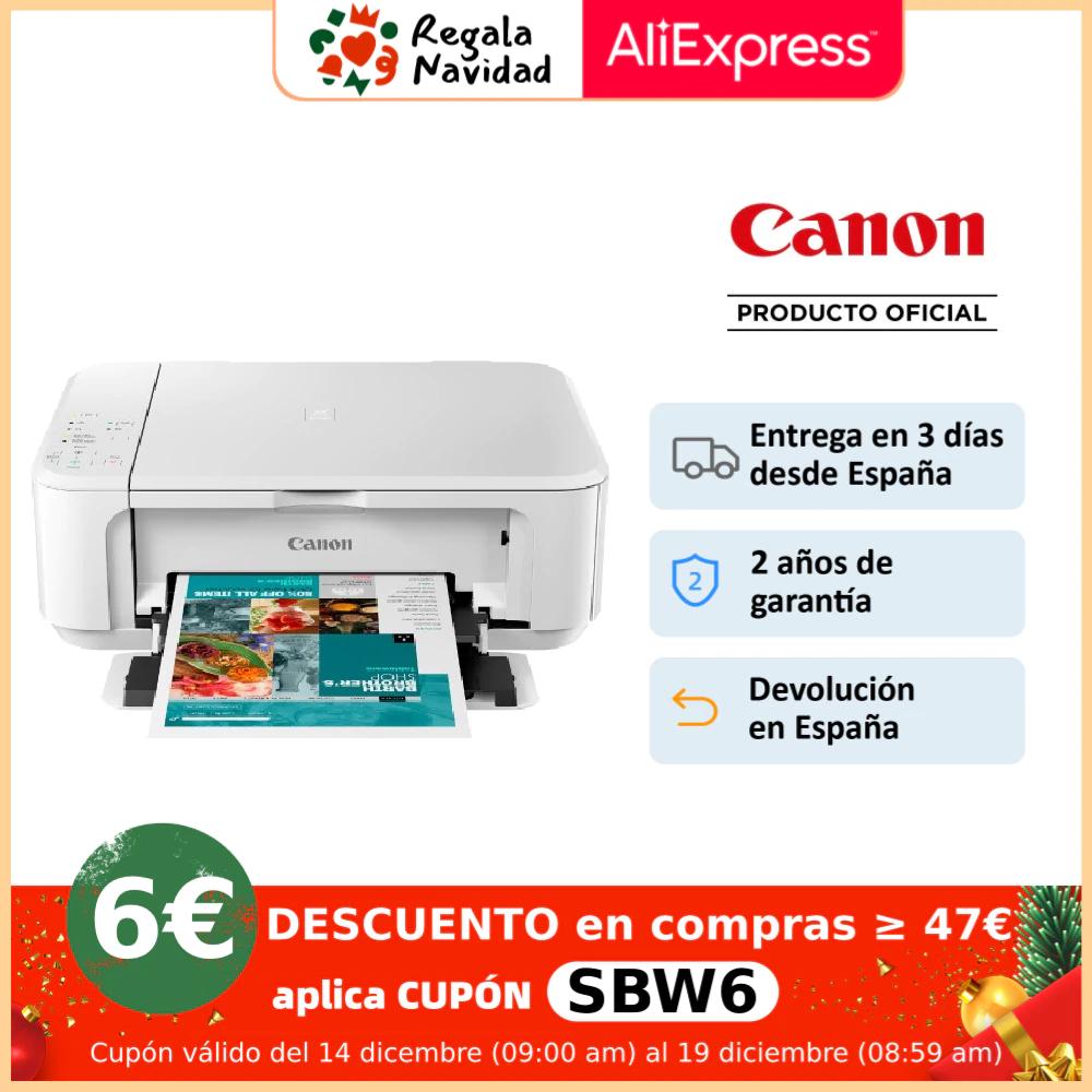Impresora multifunción de inyección de tinta Canon Pixma MG3650S Wi-Fi