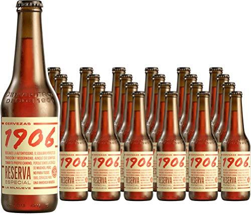1906 Reserva Especial Cerveza - Pack de 24 botellas