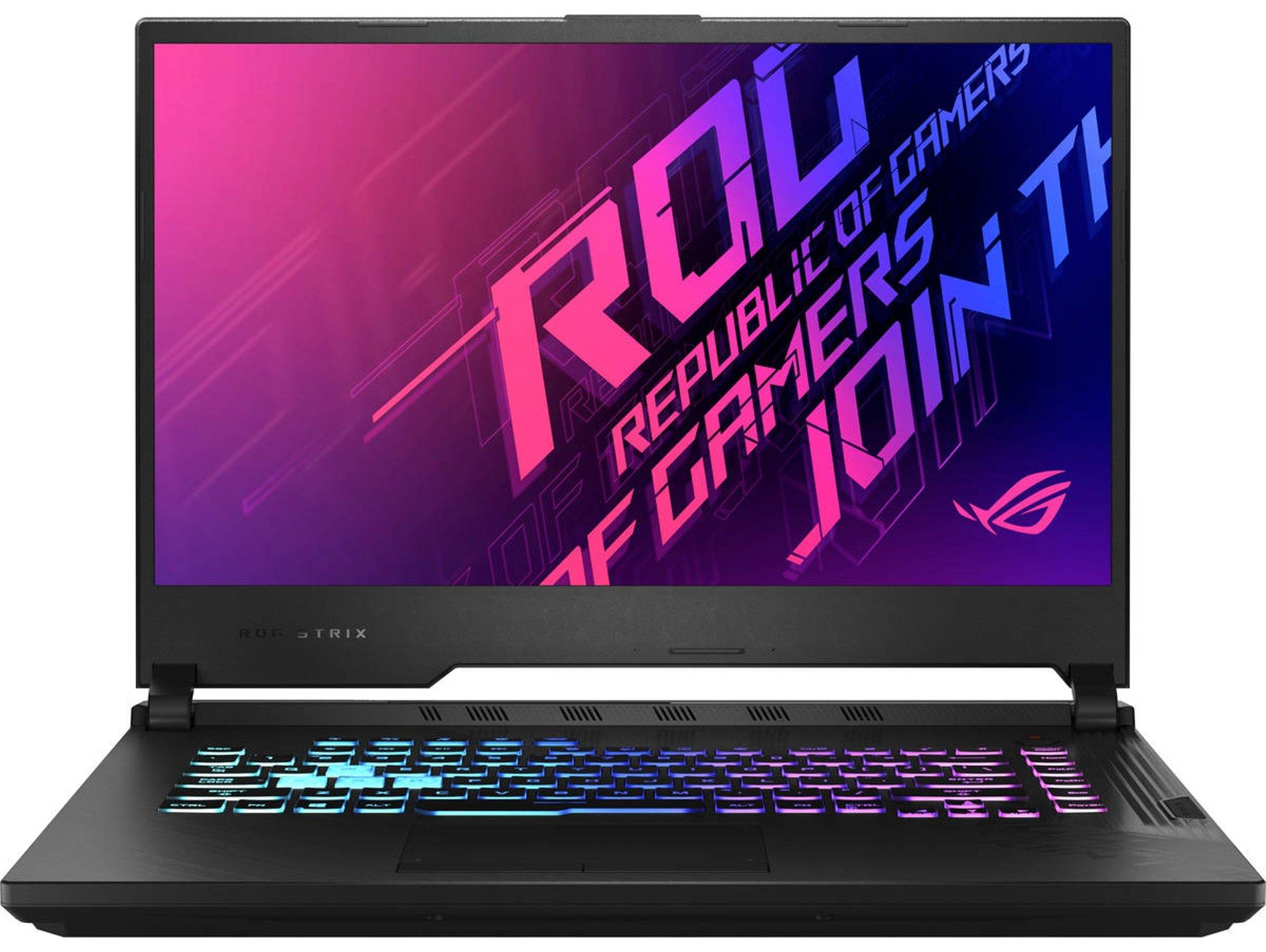 Portátil Gaming ASUS ROG Strix G15 G512LV-HN221T (Intel Core i7-10870H - NVIDIA GeForce RTX 2060 - RAM: 16 GB - 1 TB SSD - 15.6'')