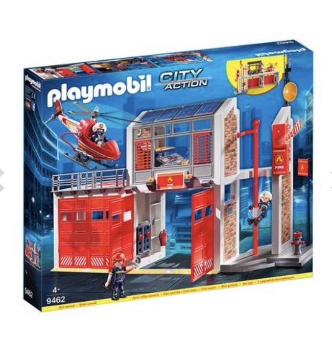 Playmobil - Parque de Bomberos - 9462