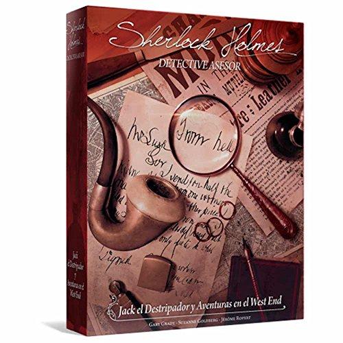Sherlock Holmes: Jack el Destripador - Juego de Mesa