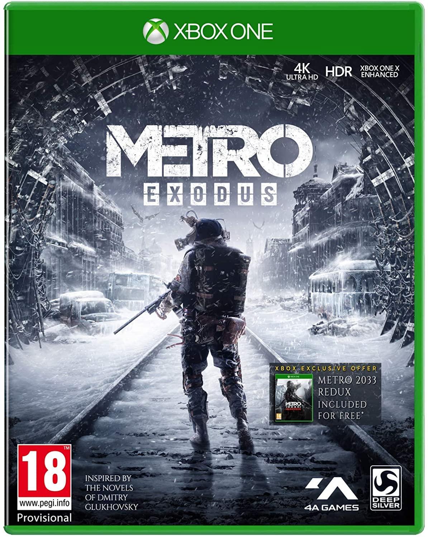 Metro Exodus + Metro 2033 Xbox One / Series X ( Físico )