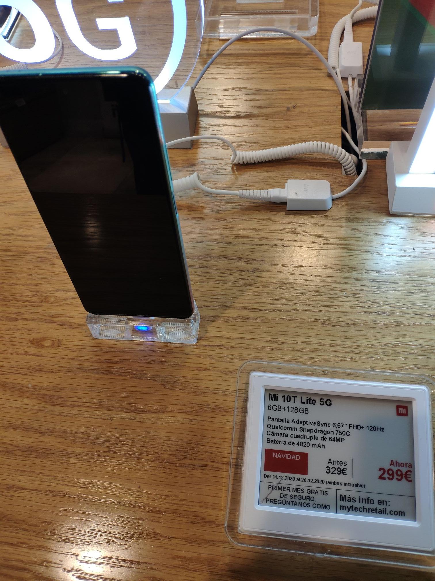 Mi 10T Lite 5G en el C.C Boulevard de Vitoria. En la tienda oficial de Xiaomi