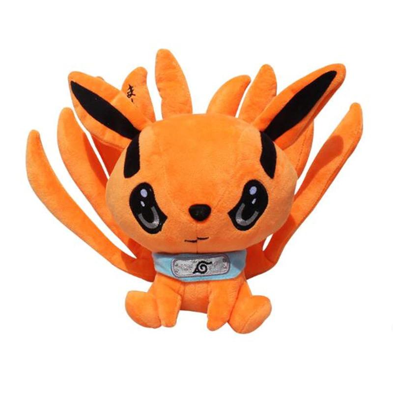 Peluche de Kurama el zorro de nueve colar de naruto, kyuubi adorable.