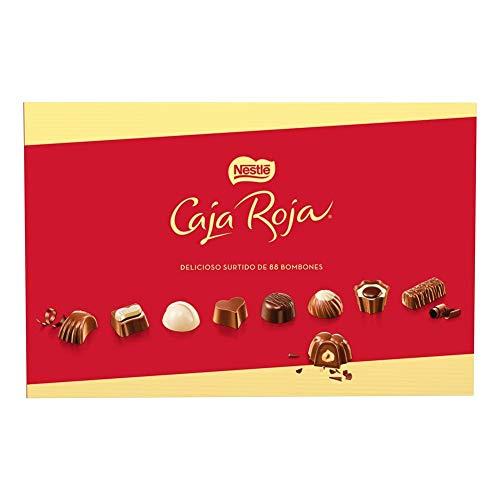 NESTLÉ CAJA ROJA Bombones de Chocolate - Estcuche de bombones 800g (Envio de 1 a 2 meses)