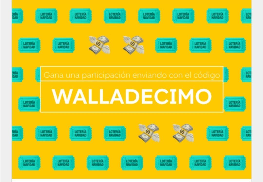 Cada vez que hagas un envío con Wallapop obtendrás una participación