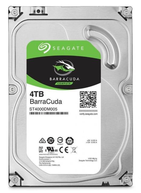 Disco duro interno 4TB Seagate Barracuda ST4000DM004