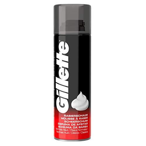 Gillette Classic Espuma de afeitado para hombre, 200 ml
