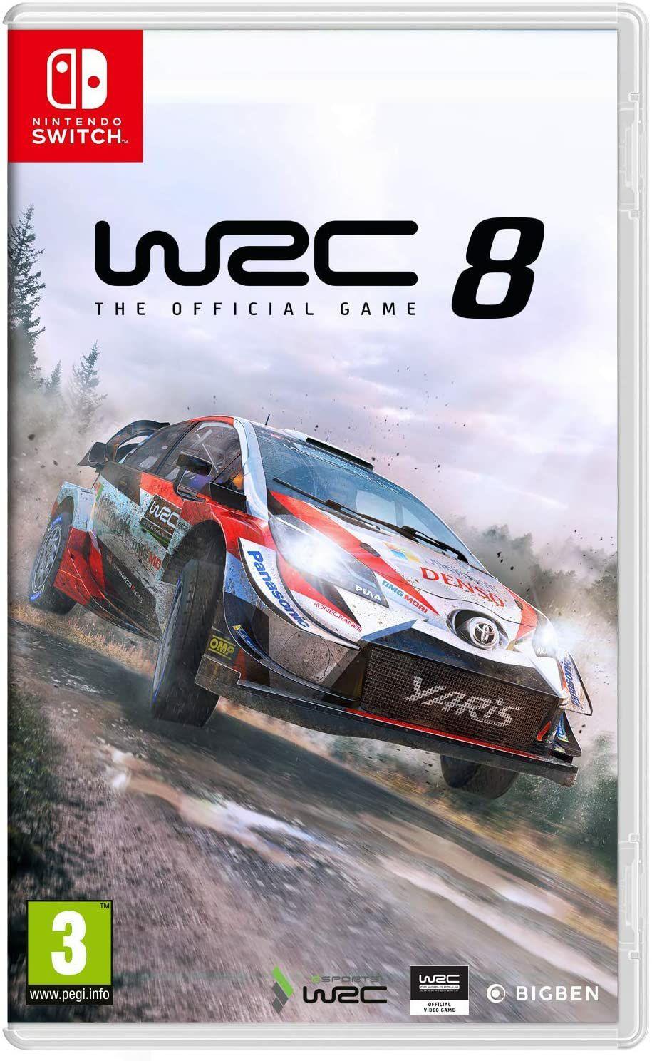 WRC 8 - Nintendo eshop