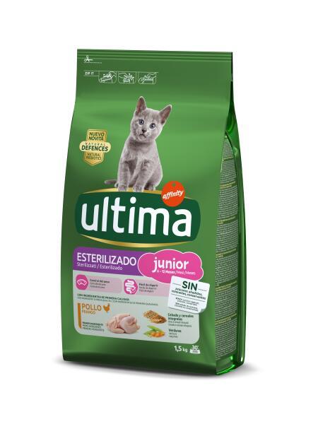 Hasta 20% en productos ULTIMA alimento para mascotas.