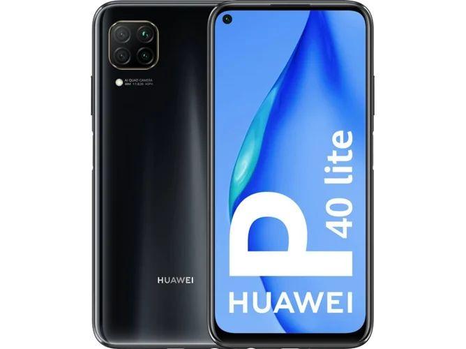 Smartphone HUAWEI P40 Lite (6.4'' - 6 GB - 128 GB - Negro)