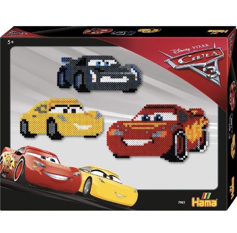 Hama Disney Cars 3 - Kits de mosaico (5 año(s), Colores surtidos, CE, 4000 pieza(s),