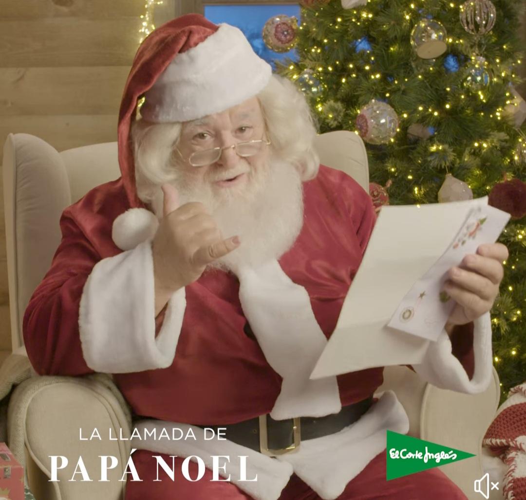 El Corte Ingles vuelve a lanzar la llamada de Papa Noel para peques y mayores