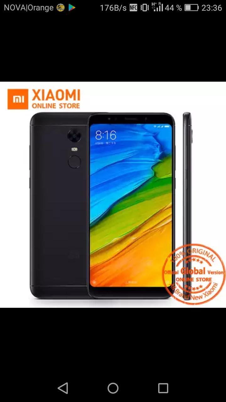Xiaomi redmi 5 plus global versión
