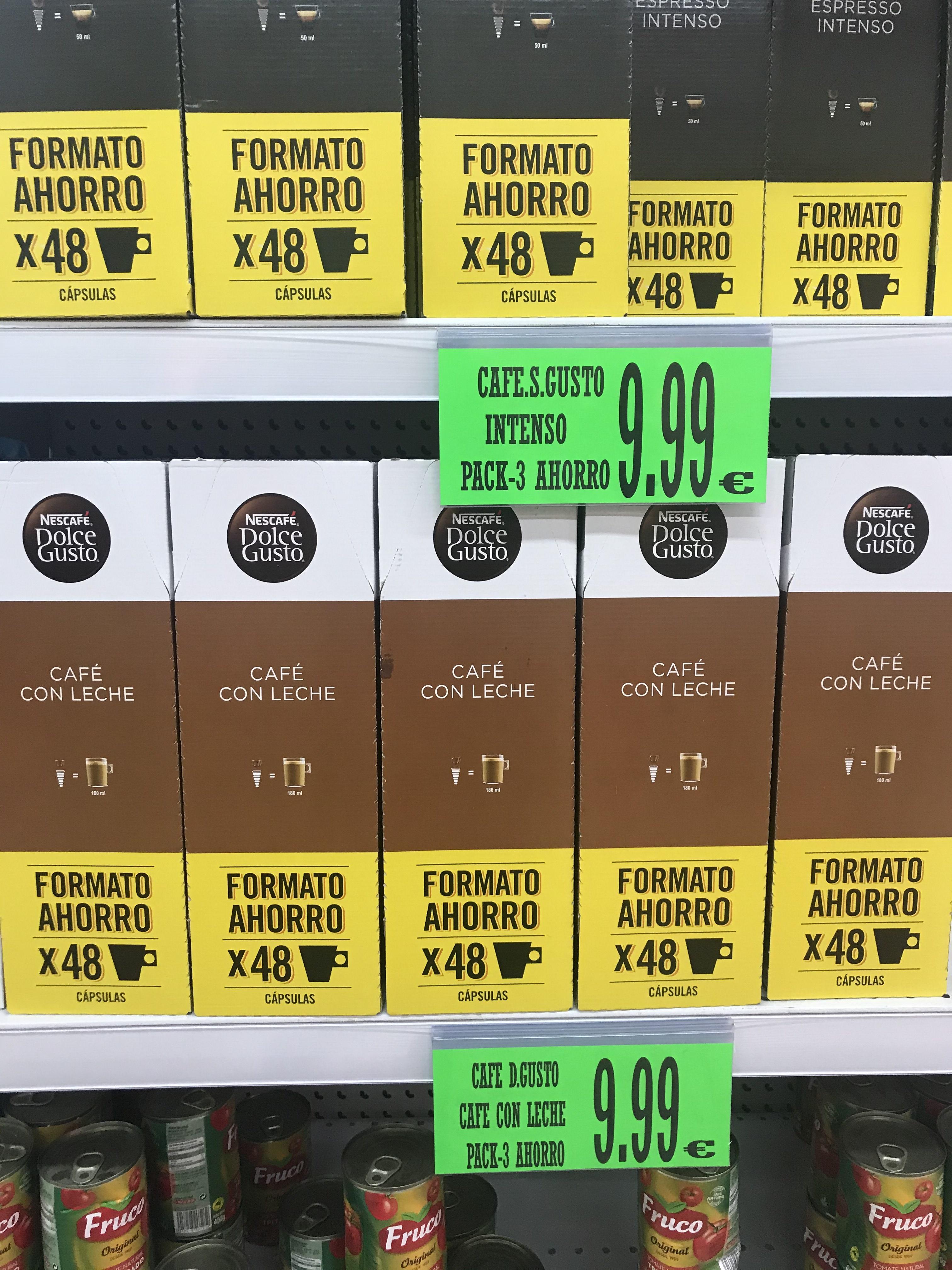 Cápsulas dolce gusto 9,99€