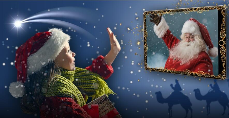 Reserva Videollamada Con Papá Noel O Los Reyes Magos