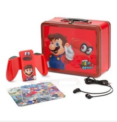 Caja de almuerzo Kit Mario Nintendo Switch (Recogida en tienda y envío gratis a domicilio para socios!))