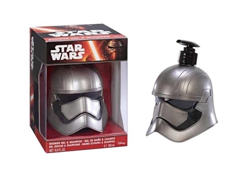 Star Wars Bote Gel/Champú Busto 3D Phasma - 500 ml