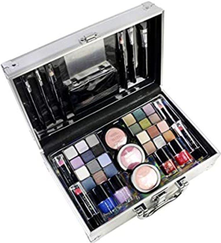 The Color Workshop TCW - Estuche de viaje para maquillaje, 43 piezas