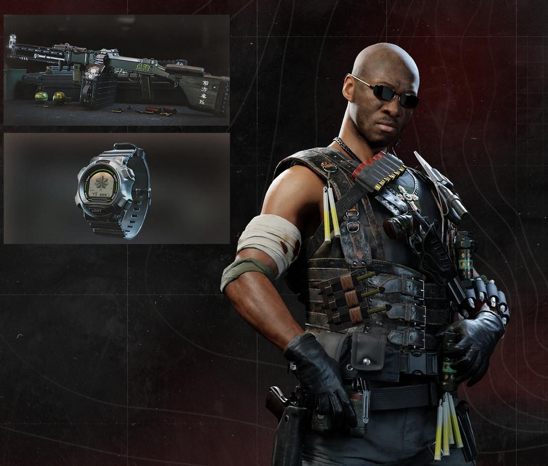 PS PLUS: Call of Duty®: Black Ops Cold War y Warzone (Paquete de combate Penumbra) - GRATIS